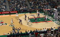 NBA 2K13 Milwaukee Bucks Court Patch