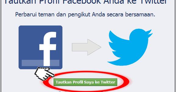 Cara Mudah Menghubungkan Aktivitas Facebook Ke Twitter !! | @ ...