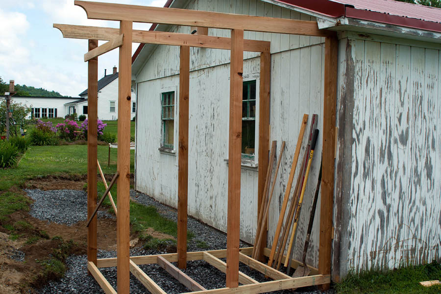 so how do we take a shower after i rip up the bathroom i design and build an outdoor shower - How To Build An Outdoor Shower