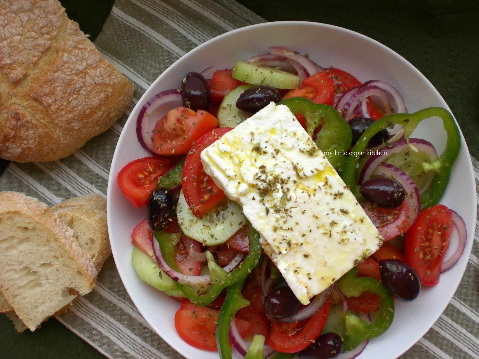 or greek salad as it is called outside of greece