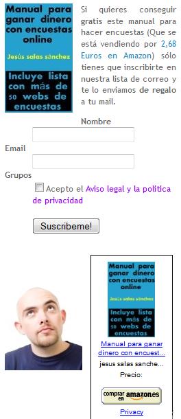 captura de pantalla de emial marketing