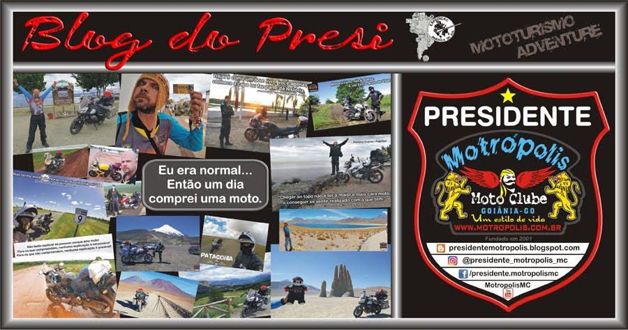 Presidente - Motrópolis Moto Clube
