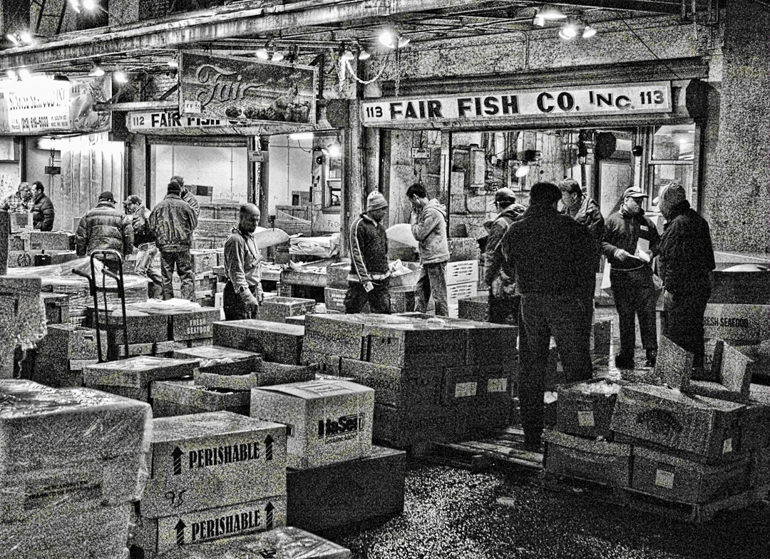 The new fulton fish market bronx ny for Fulton fish market