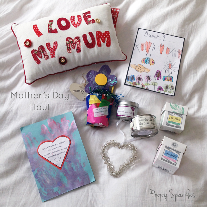 Gorgeous gifts from children this Mother's Day | Poppy Sparkles #mothersday #gifts #children #parenting