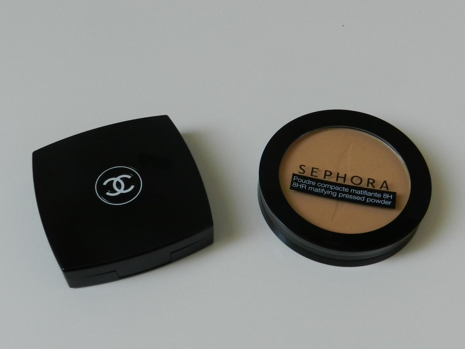 Les Instants Dune Blogueuse De Clermont Ferrand Poudre Universelle Chanel Libre Compacte Et Compact Matifiante Sephora