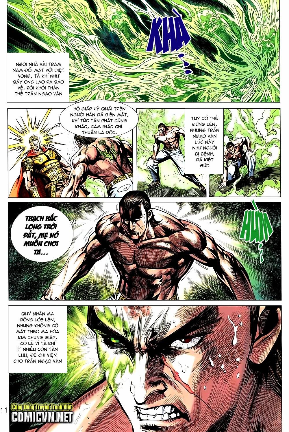 Thạch Hắc Long Truyện Chap 90 - Trang 11