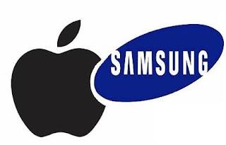 Apple versus Samsung.
