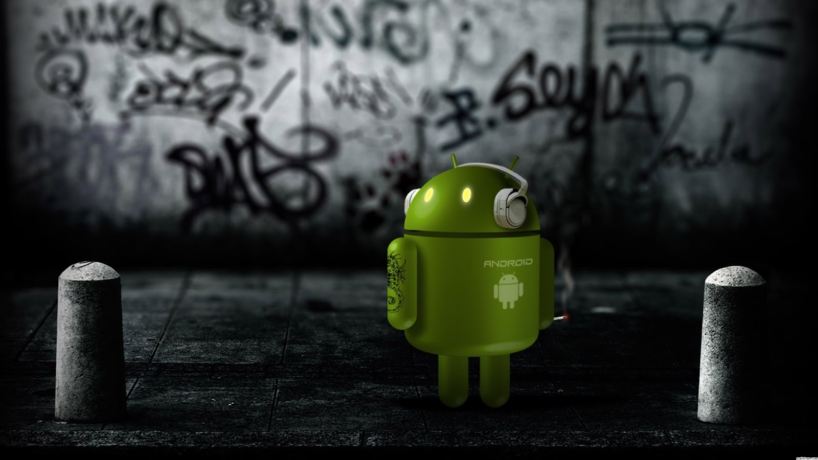 Cool HD Wallpapers of Android Logo
