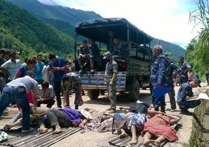 sindhupalchok landslide nepal