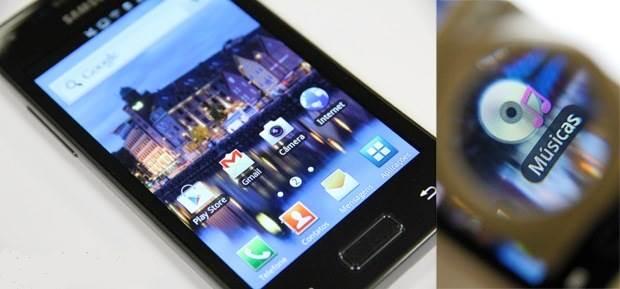 Resolução da tela do Samsung Galaxy S2 Lite