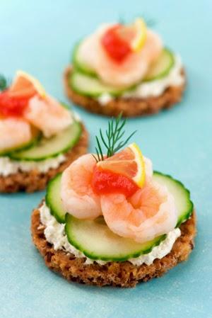 Shrimp canap s for Shrimp canape ideas