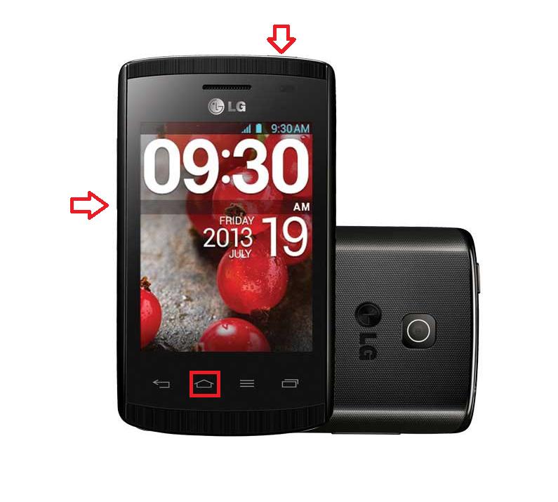 LG Optimus L1 II Dual E415
