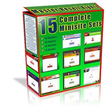 15 Minisite Sets