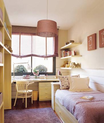Iluminaci n de un dormitorio infantil decoraci n de - Iluminacion habitacion ...