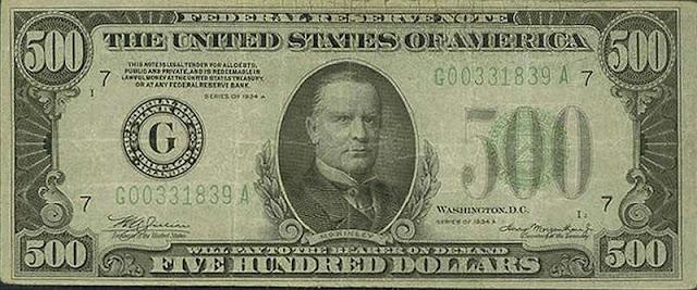 nota de 500 dolares, os significados do 666