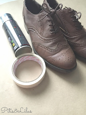 DIY RENOVAR UNOS ZAPATOS CON SPRAY CROMO