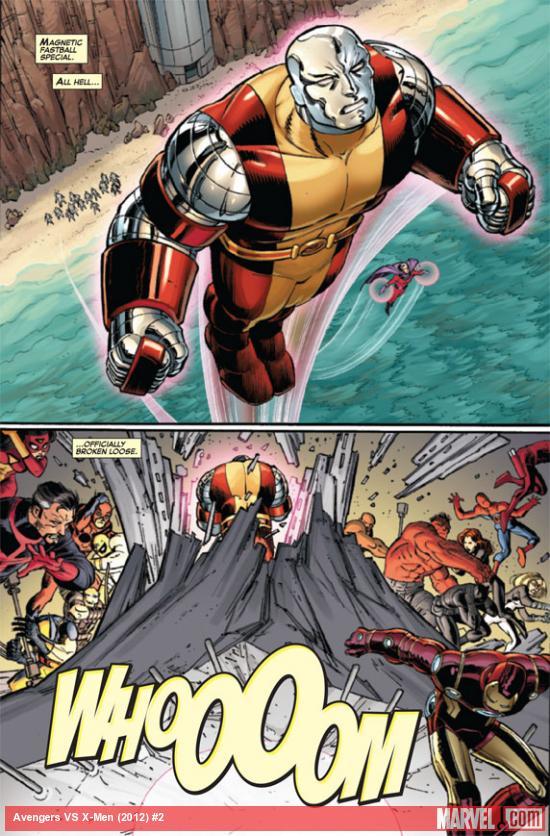 Rusted Mecha Review Avengers Vs X Men Issue 2