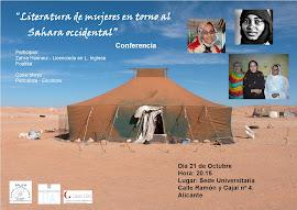 Conferencia- Literatura de mujeres en torno al Sahara Occ.ntal