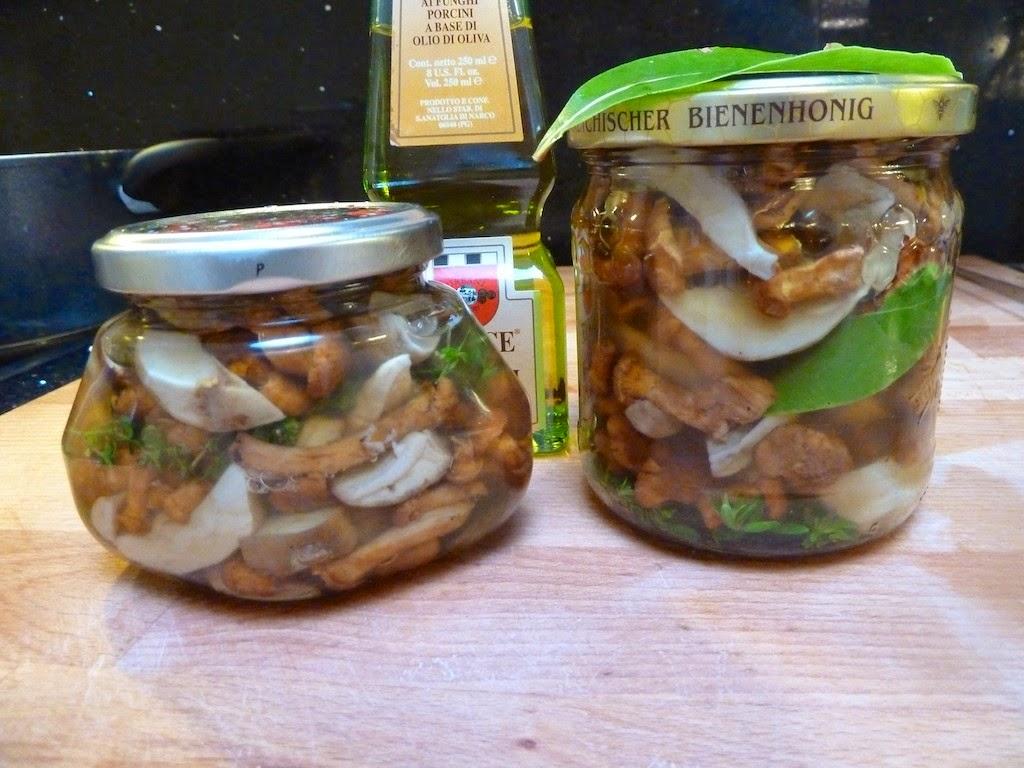 Prostmahlzeit hamstern - Pilze in glaser einkochen ...
