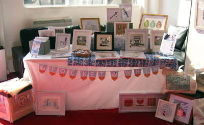 Pocket Wren craft stall