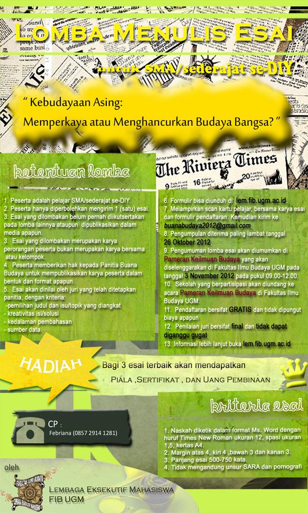 cara membuat essay bahasa indonesia