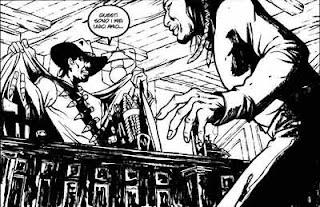Tavola del fumetto 'Se sei vivo, spara!'