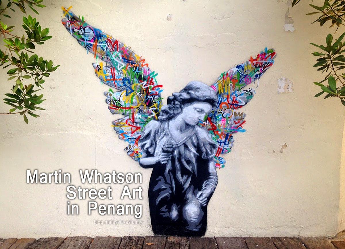 Beautiful Martin Whatson Penang Street Art