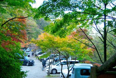 Kajika-bashi parking