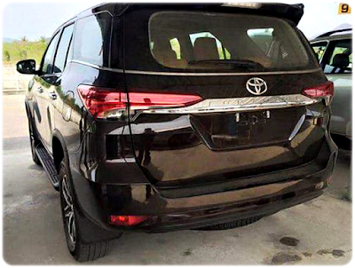 Gambar Eksterior Belakang New Toyota Fortuner 2016