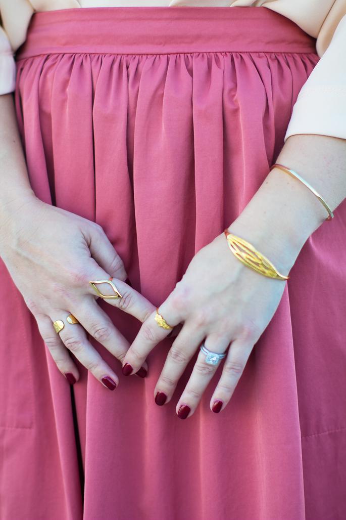 gorjana gold rings, gorjana bracelets
