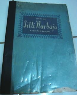 Buku Lama Sitti Nurbaja-Mh. Rusli-Cetakan ke-11 Tahun 1965