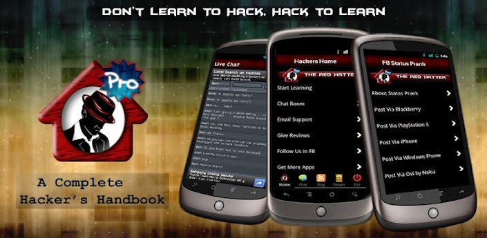 Mobile Android Blog: Hackers Home Pro v1.01 Apk App