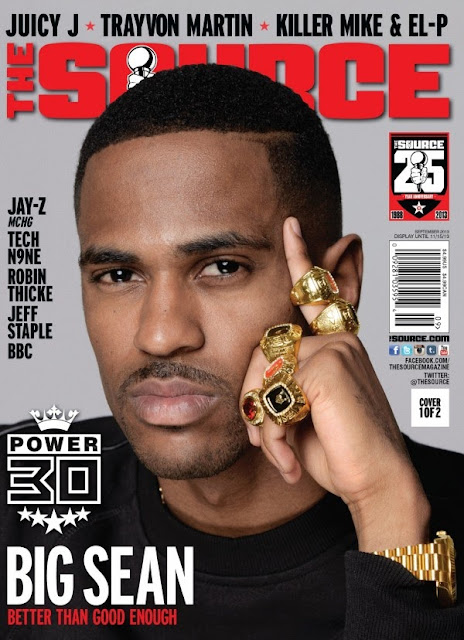 Big Sean in The Source Magazine