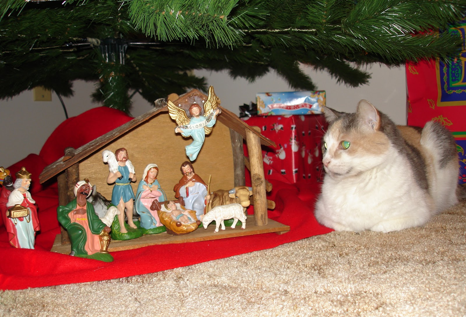 Belair Family crèche (Nativity set)