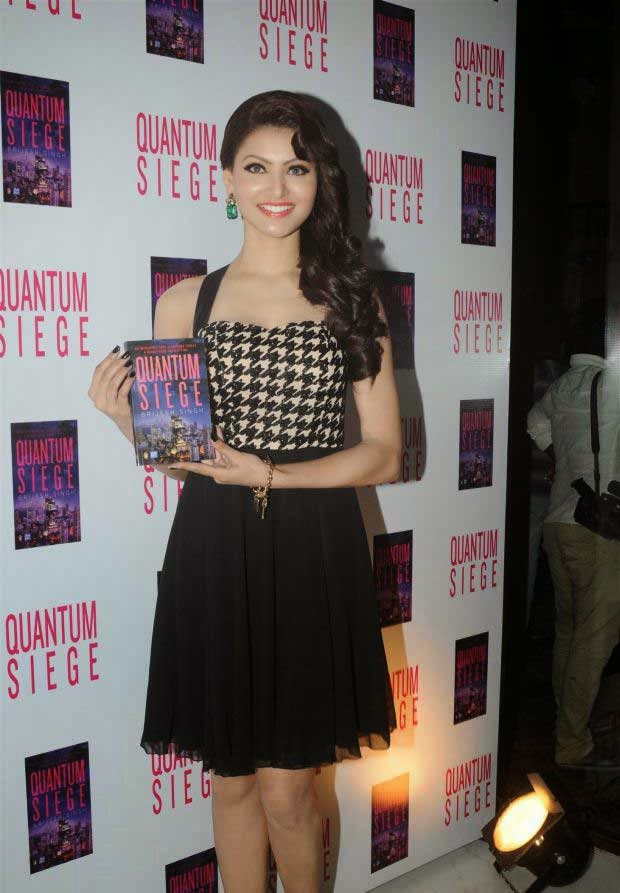 Gauhar Khan at Brijesh Singh's book 'Quantum Siege' launch
