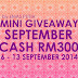 Mini GA September Cash RM300 by Emas Putih