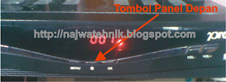 Tombol Power Panel Depan