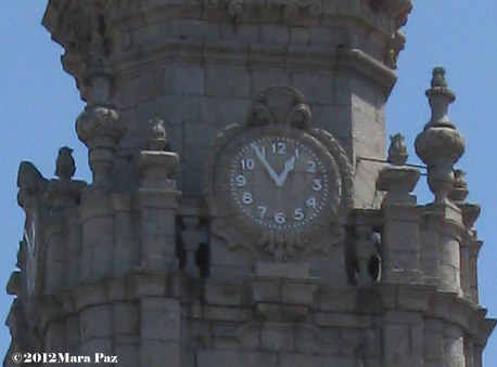 Clerigos Tower clock