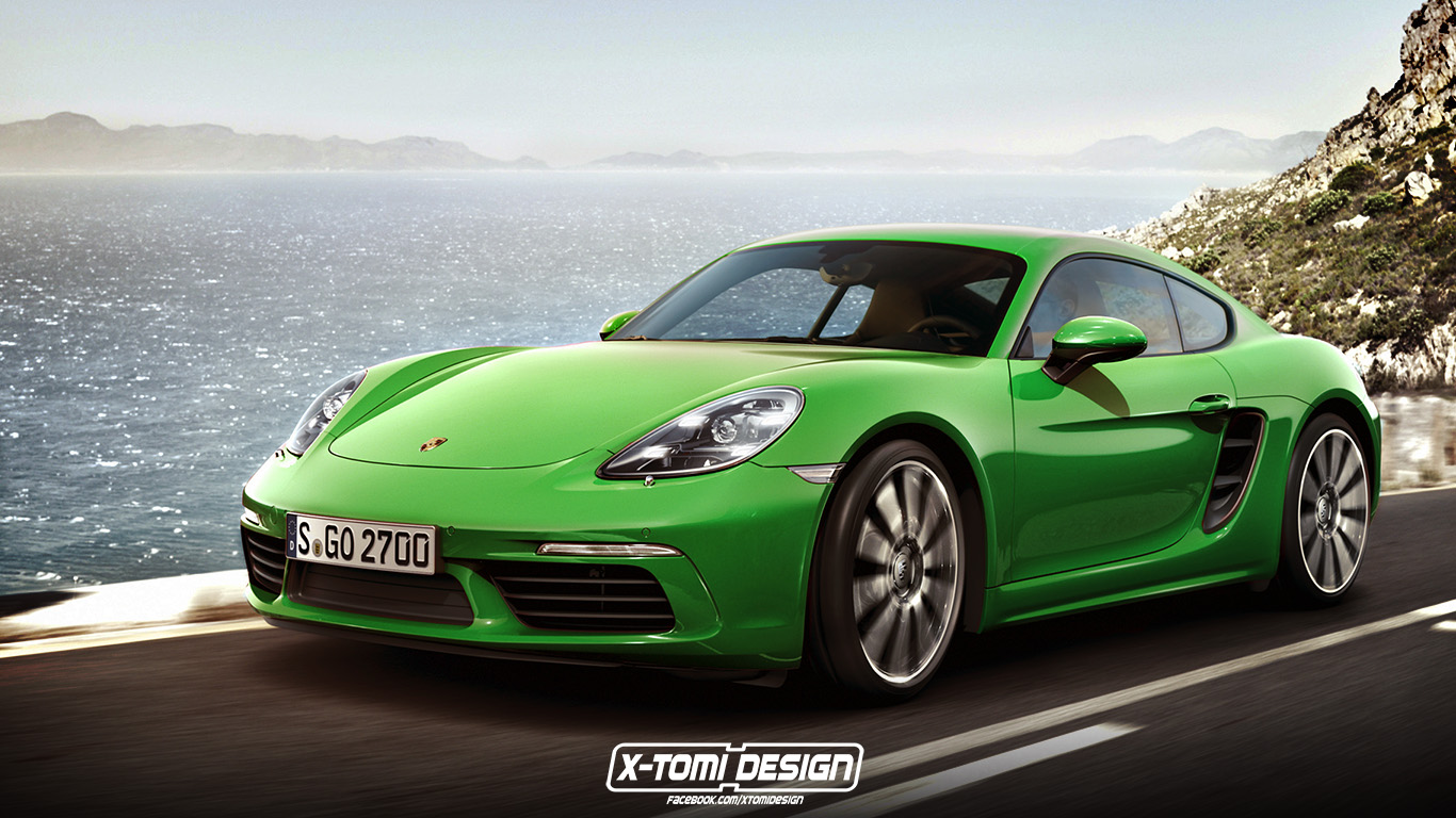 porsche 718 cayman can 39 t come a day too soon carscoops. Black Bedroom Furniture Sets. Home Design Ideas