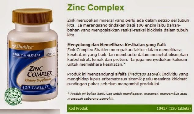 rawat rambut gugur  dengan zinc