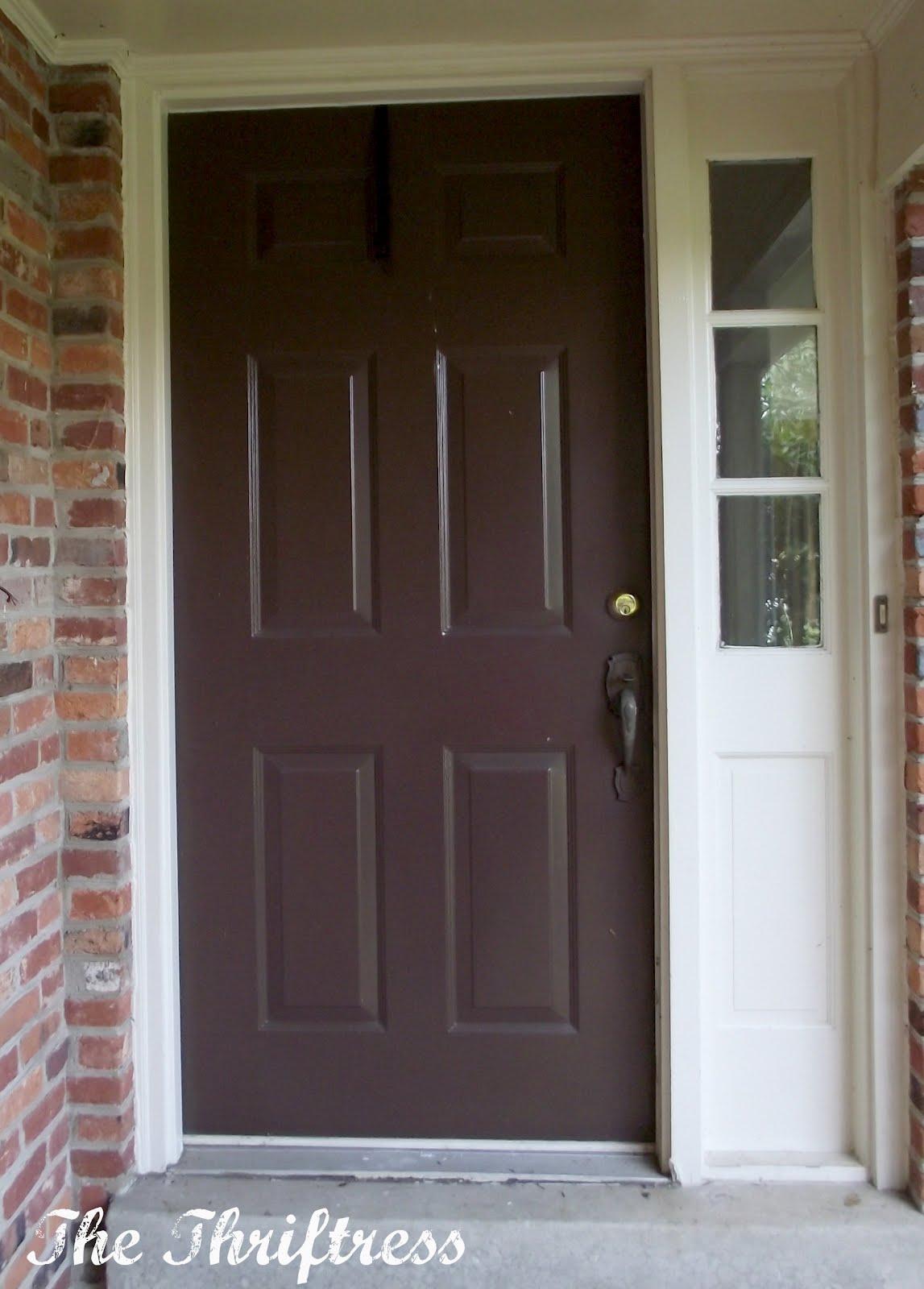 1600 #62493A Dark Brown Front Door image Dark Brown Front Doors 47731147