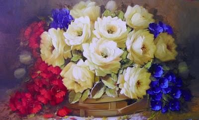 pinturas-de-flores-impresionistas