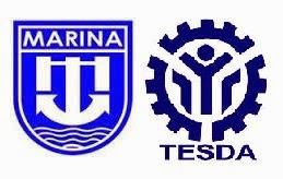 MARINA and TESDA Logos