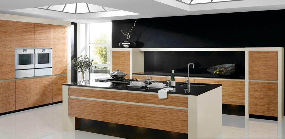 La madera en la cocina de vanguardia cocinas con estilo for Cocinas modernas negras
