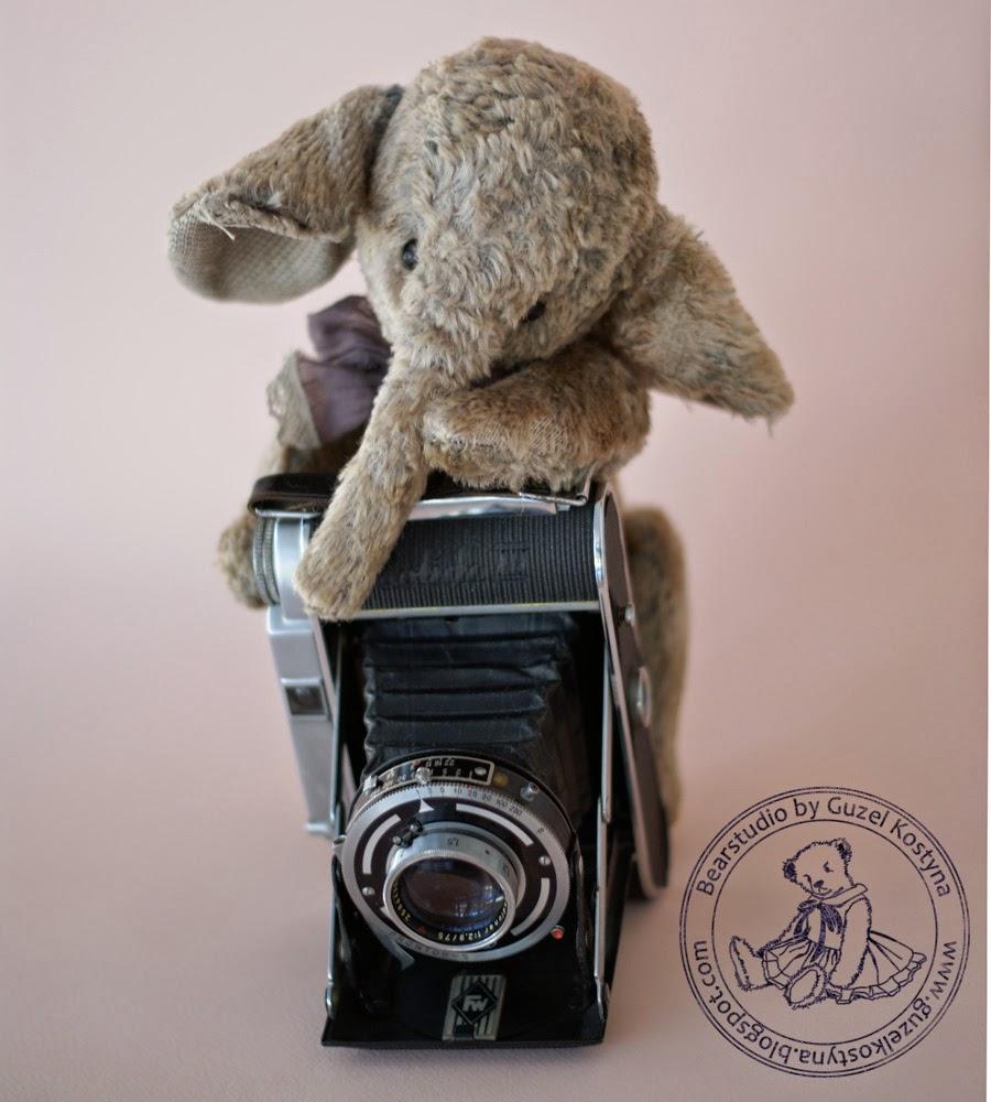 ретро слоник,Гузель Костына,слоники, мишки тедди,сшить слоник,купить набор