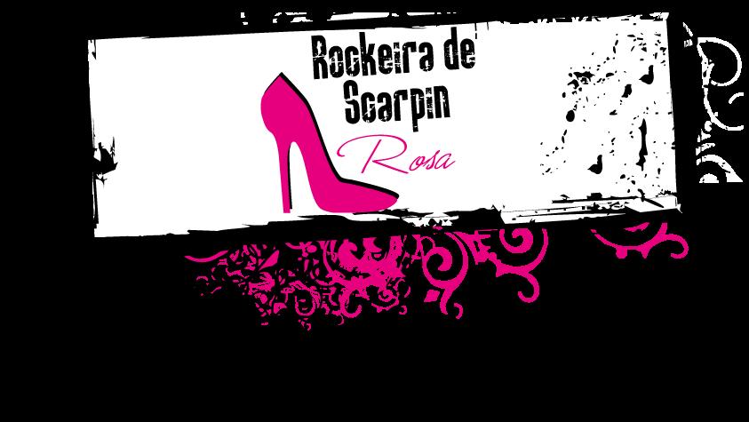 Rockeira de Scarpin Rosa