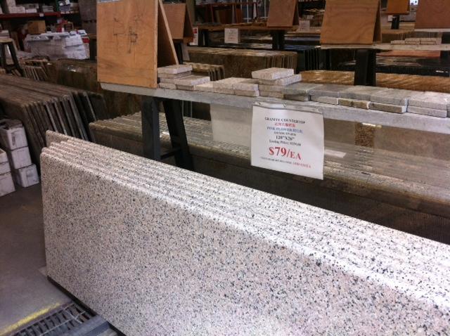 $79 For A 10 Ft Slab Of Bullnosed Granite