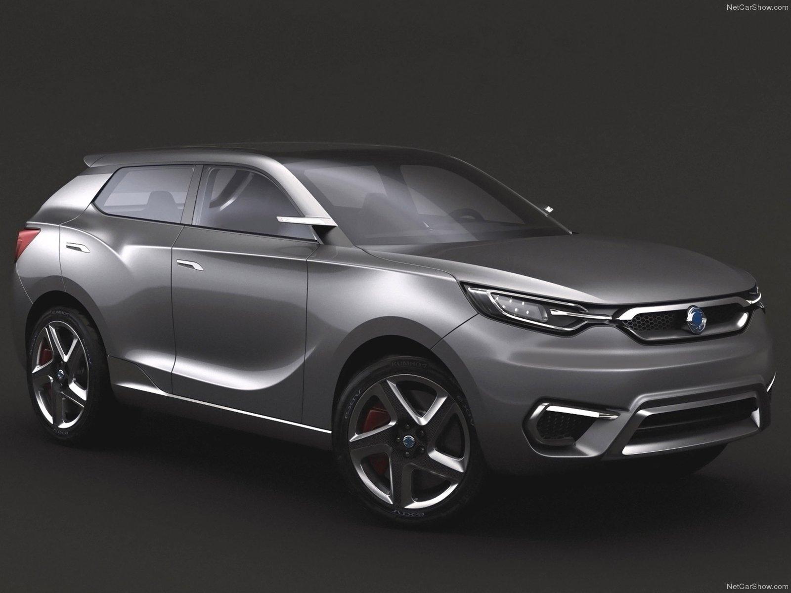Hình ảnh xe ô tô SsangYong SIV-1 Concept 2013 & nội ngoại thất
