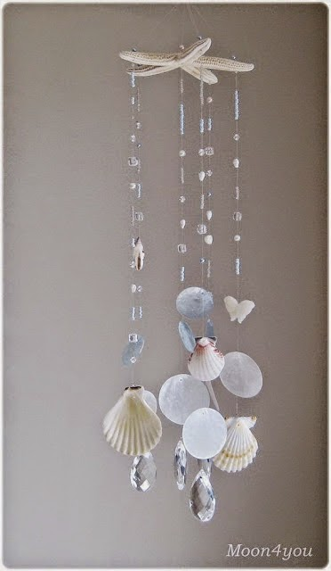 50 magical diy ideas with sea shells do it yourself for Diy shell crafts