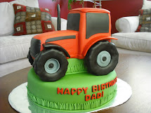 Tractor Cake Template Printable